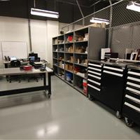 Tool Room Shelving at Wake County Detention Center, North Carolina