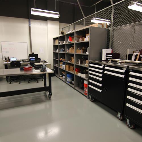 Tool Room Shelving at Wake County Detention Center, North Carolina