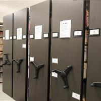 File Storage on Mobile Shelving at Wake County Detention Center, North Carolina