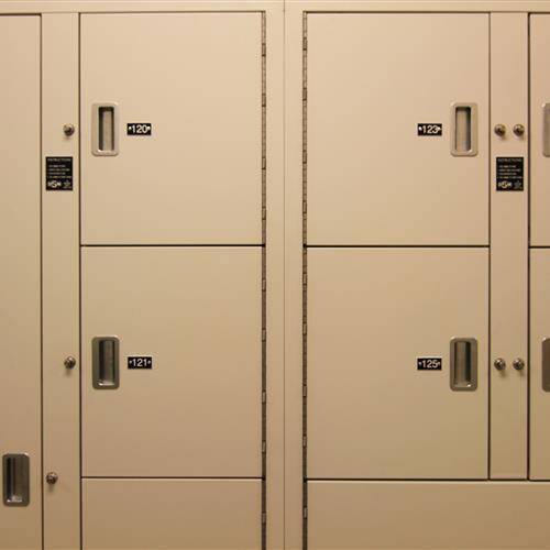 Pass-Through Evidence Storage, Wake County Detention Center, North Carolina