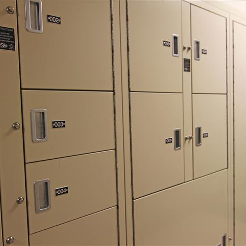 Pass-Thru Short-Term Evidence Lockers, Wake County Public Safety Building, North Carolina