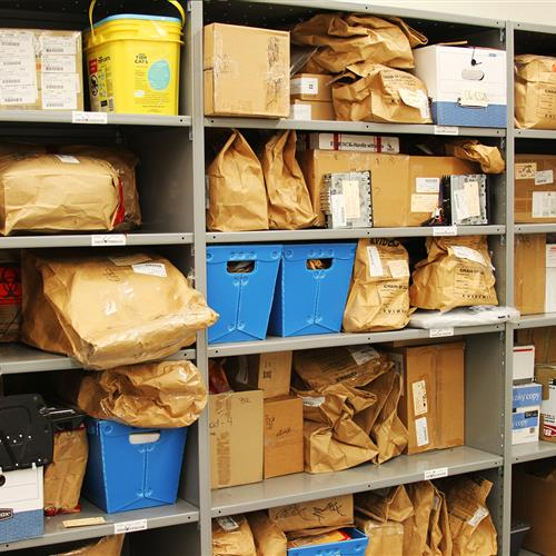 Long-Term Evidence Storage at Wake County Public Safety Building, North Carolina