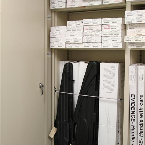 Long-Term Evidence Storage, Wake County Public Safety Building, North Carolina