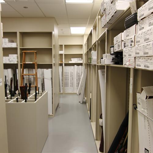 Evidence Storage at Wake County Public Safety Building, North Carolina