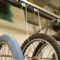 Bicycle Storage Detail, Wake County Public Safety Building, North Carolina