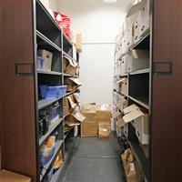 Evidence Storage on High-Density Mobile Shelving, Durham County Courthouse, North Carolina