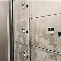 Refrigerated Evidence Storage at Durham County Courthouse, North Carolina