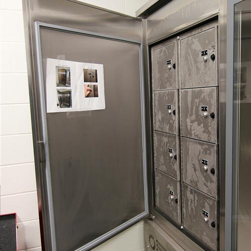 Refrigerated Evidence Lockers at Durham County Courthouse, North Carolina