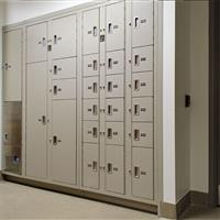 Pass-Through Evidence Storage Lockers