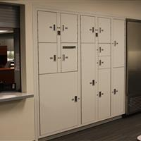 Short-term Evidence storage and refridgerator system in Bellevue Police Department
