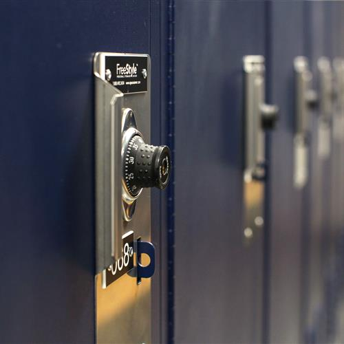 Combination lock for law enforcement locker security