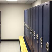 Multiple law enforcement lockers in Bensalem Police Department