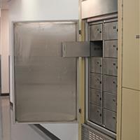 Temporary Evidence lockers inside refrigerator system