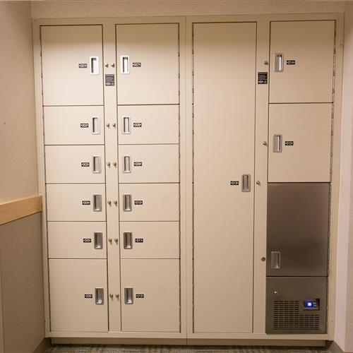 Short-term Evidence lockers and refrigerated evidence storage system