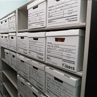 Mechanical-assist mobile shelving for long-term file storage