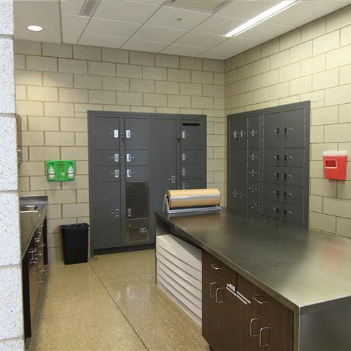 Secure evidence storage lockers