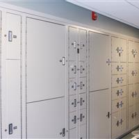 Temporary Evidence lockers in Omaha Police Department offers various sizes of evidence drop off spaces