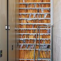Long term evidence storage on static shelving