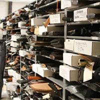 Weapons evidence storage at Raleigh Police Department
