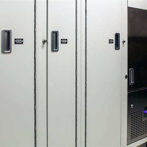 Short-term Evidence and refrigerated lockers in Salisbury Police Department