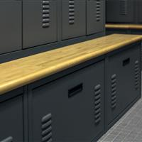 Ventilated lockers and drawers to dry items faster and draw out odors at Salisbury Police Department