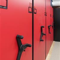 Mechanical Assist mobile storage system for Chicago Blackhawks Athletic Equipment