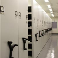 Artifact storage on mechanical assist compact storage