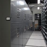 Compact Mobile storage cabinets for archival storage