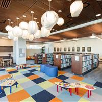 Interactive Kids area at the Marmalade Public Library