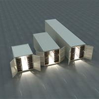 Container Warehouse II deployment storage in 10, 20 or 40 foot containers