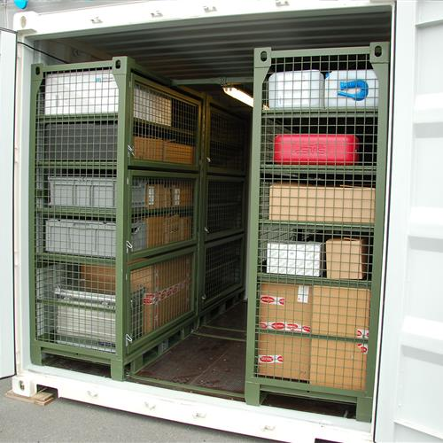 SharkCage - Container Warehouse II Equipment storage in 10, 20 or 40 foot containers