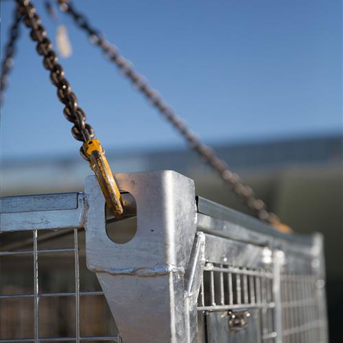 Sling Load capabilities on Deployment Locker for easy air transport