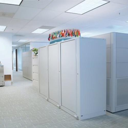 Rotary administrative office storage