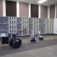 Modular Millwork Music Room
