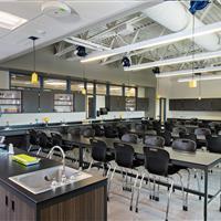 Modular Millwork Classroom