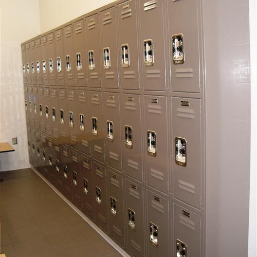 Lyon Lockers Students Changing Room
