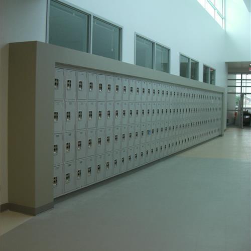 Lyon Lockers Hallway Student Lockers