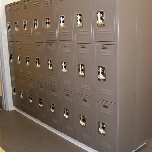 Lyon Lockers Secure Individual Lockers for Changing Room