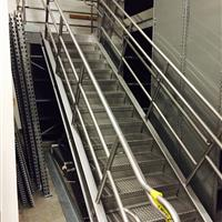 Hotel Supply Warehouse Staircase