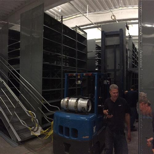 Hotel Supply Warehouse Installation