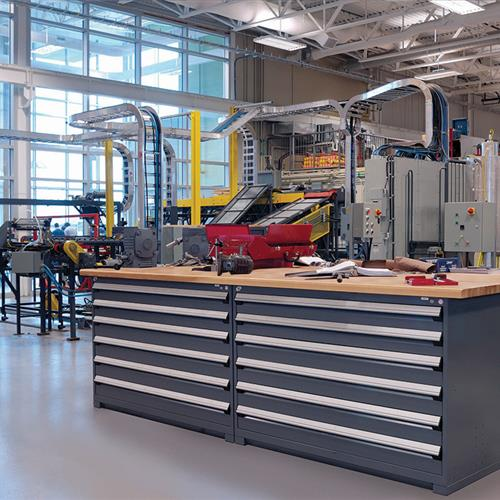 Work Benches and Cabinets for Manufacturing