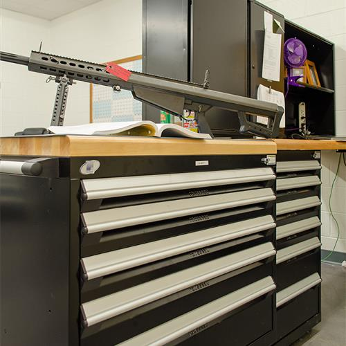 Modular Drawer Storage for Weapons and Parts