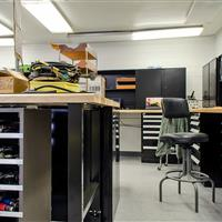 Military Storage Cabinets and Work Benches