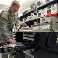 Military Communication Equipment Storage
