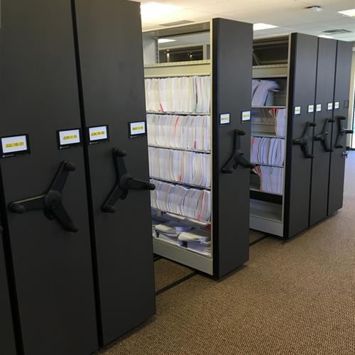 High Density Mobile System Storing Files