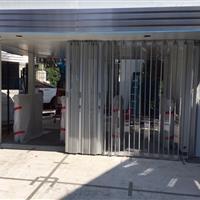 Accordion pocket doors at major motion picture studio