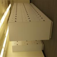 3 tier laminate lockers for Personal Storage 2 units Side Angle