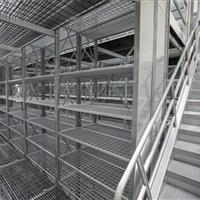 Catwalk 2nd Level of Shelving