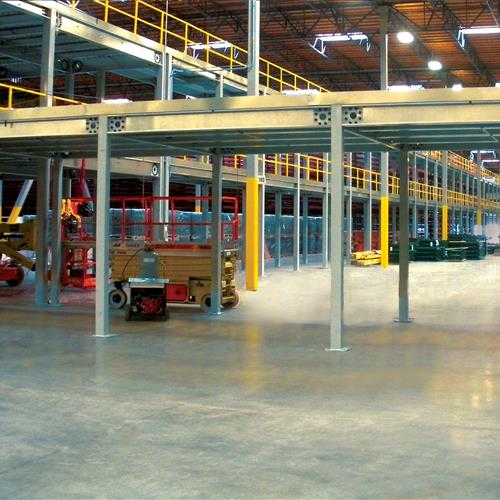 Industrial Steel Mezzanine 2 levels