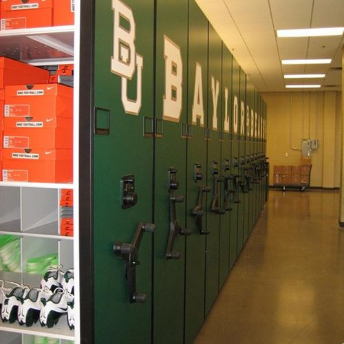 Athletic Equipment Storage at Baylor University